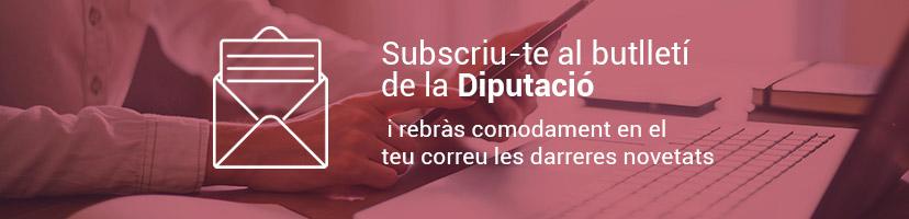 Susctíbete al Newsletter de la Diputación de Castellón