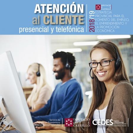 Atención al cliente presencial y telefónica - Soneja