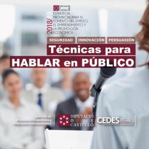 Técnicas para hablar en Público - Vall d'Alba