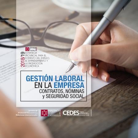 Gestión Laboral en la empresa; Contratos, Nóminas y Seguridad Social - Albocàsser