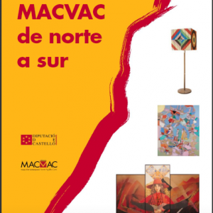 Exposición de arte contemporáneo - MACVAC de norte a sur (La luna, la musa)