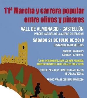 """Carrera en Vall de Almonacid - """"Entre olivos y pinares"""""""
