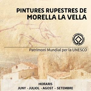 Visita las pinturas rupestres de Morella la Vella