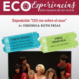 """Exposición """"153 cm sobre el mar"""" - Visita guiada"""