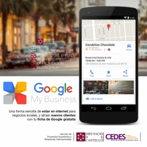 Google My Business. La forma sencilla d'estar a internet