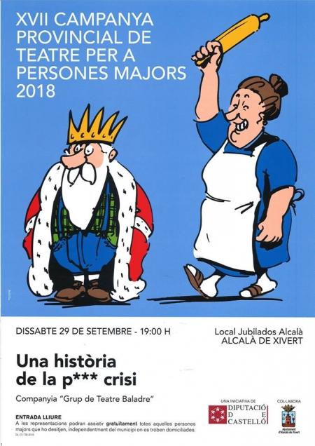 XVII CAMPAÑA PROVINCIAL DE TEATRO PARA PERSONAS MAYORES