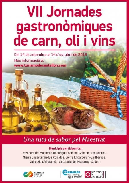 VII Jornades Gastronómiques de carn, oli i vins