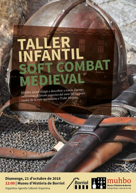 TALLER DE SOFT COMBATE MEDIEVAL
