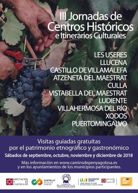 CENTROS HISTÓRICOS E ITINERARIOS CULTURALES