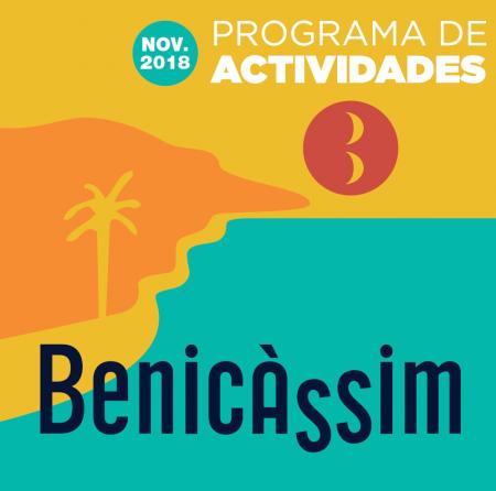 PROGRAMA DE ACTIVIDADES BENICÀSSIM, DE NOVIEMBRE