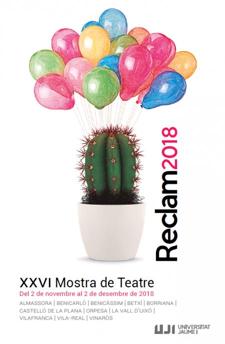 RECLAM 2018, XXVI MUESTRA DE TEATRO