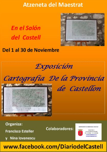 EXPOSICIÓN CARTOGRAFÍA DE LA PROVINCIA DE  CASTELLÓ