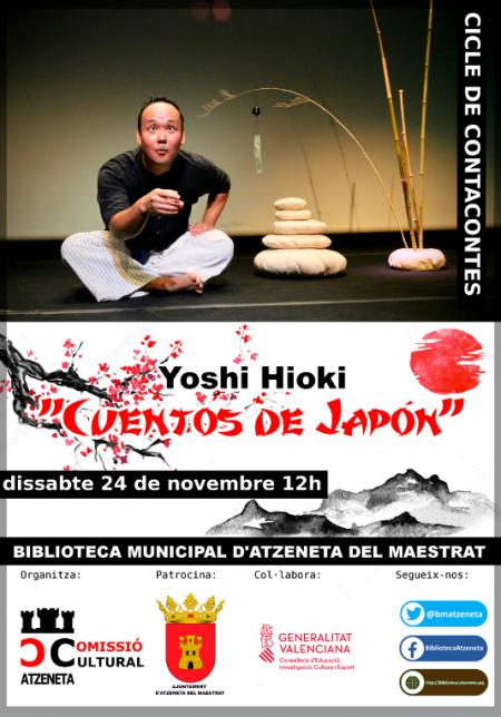 """YOSHI HIOKI """"CUENTOS DE JAPÓN"""""""