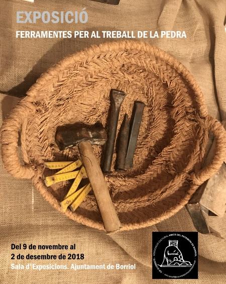 """EXPOSICIÓN """"HERRAMIENTAS PARA EL TRABAJO DE LA PIEDRA"""""""