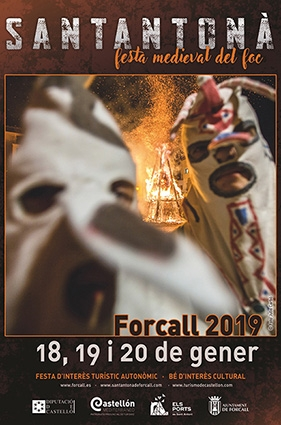 SANTANTONÁ 2019: FESTA MEDIEVAL DEL FOC (FORCALL)