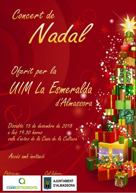 Concert de Navidad  UIM La Esmeralda (Almassora)