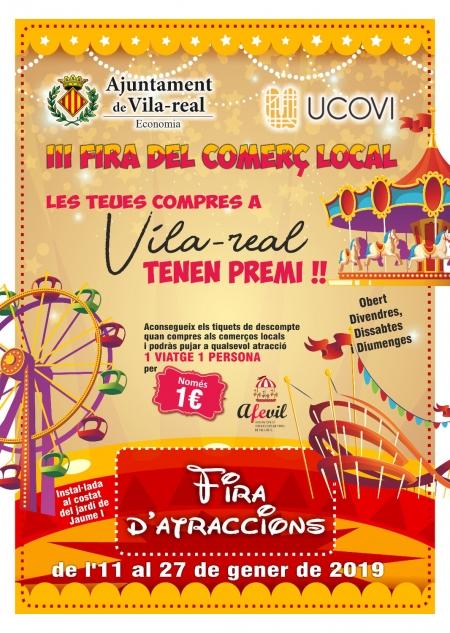 Feria de atracciones Vila-real 2019