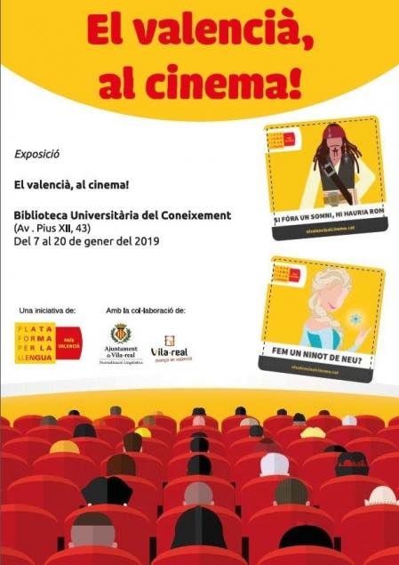 """Exposición: """"El valencià, al cinema!"""""""
