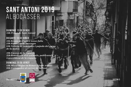 SANT ANTONI 2019 (ALBOCÀSSER)