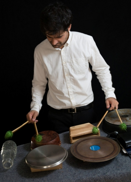 Concert David Moliner: Percussion Mono-Machine 2.0