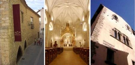Horario de invierno de las visitas guiadas a los monumentos y museos. (Vilafranca)