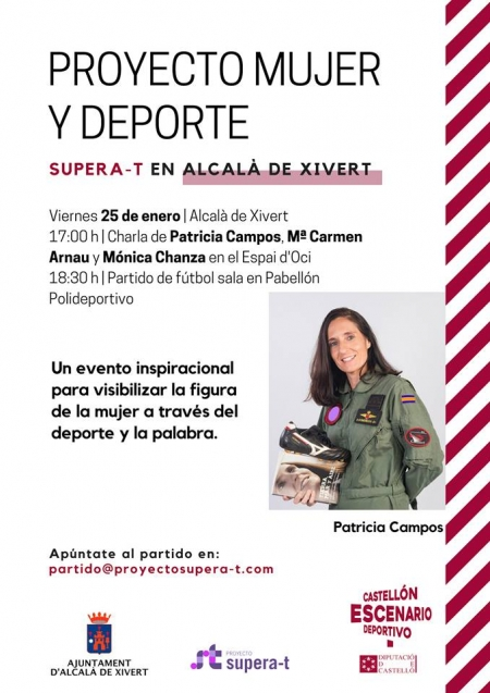 "Charla ""Mujer y Deporte - Proyecto Supera-T"""