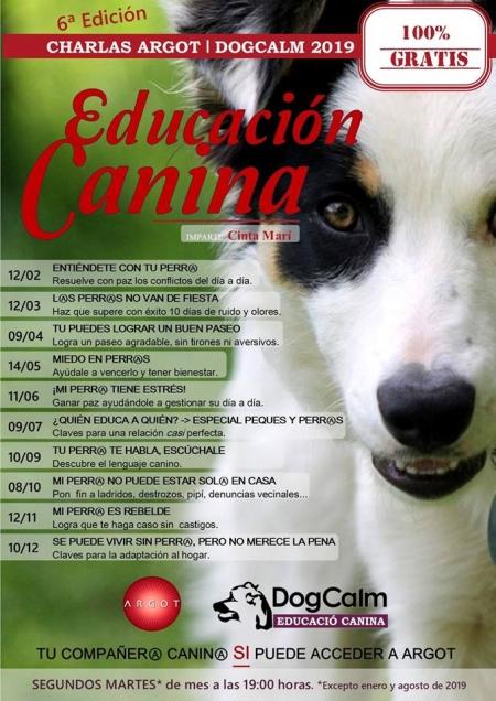 """Ciclo de educación canina """"DogCalm"""" a cargo de Cinta Mari"""