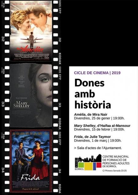 Ciclo de cine: Mujeres con historia