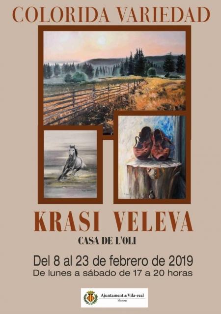 Exposición de pintura de KRASI VELEVA