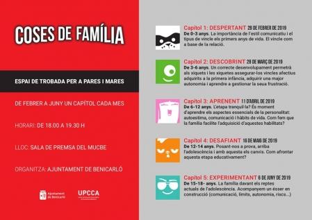 Programa para padres y madres «Cosas de familia»