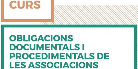 """Curso: """"Obligaciones documentales y procedimentales de las asociaciones"""""""