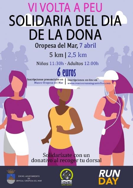 Carrera Solidaria de la Mujer