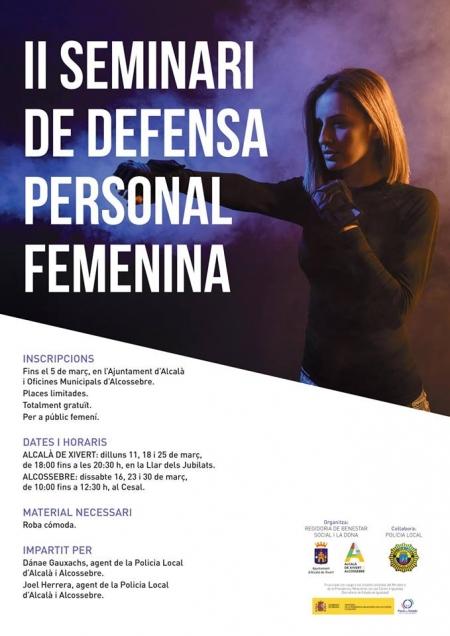 II Seminario de Defensa Personal Femenina