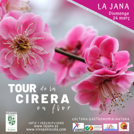 Tour de la Cereza en Flor