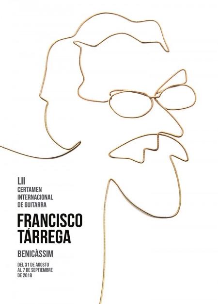 """CONCURSO DE CARTELES, DEL LIII CERTAMEN INTERNACIONAL DE GUITARRA """"FRANCISCO TARREGA"""""""