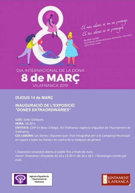 """Exposición: """"Mujeres Extraordinarias""""."""