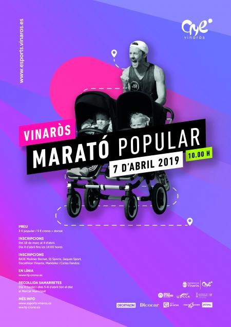 Maratón Popular de Vinaròs 2019