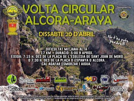 Running Moró - Vuelta circular Alcora - Araya