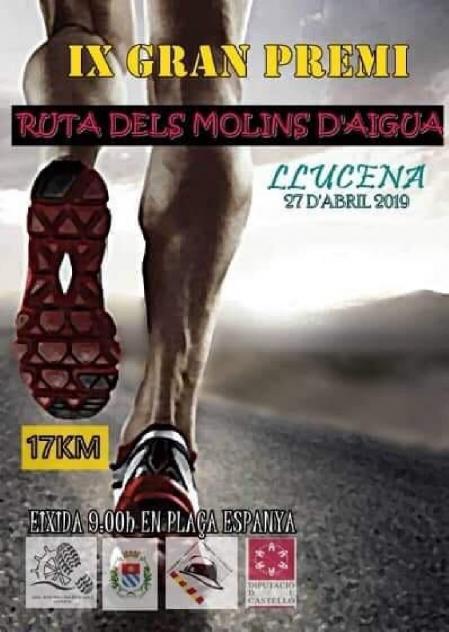 IX GRAN PREMIo RUTA DE LOS MOLINOS LLUCENA
