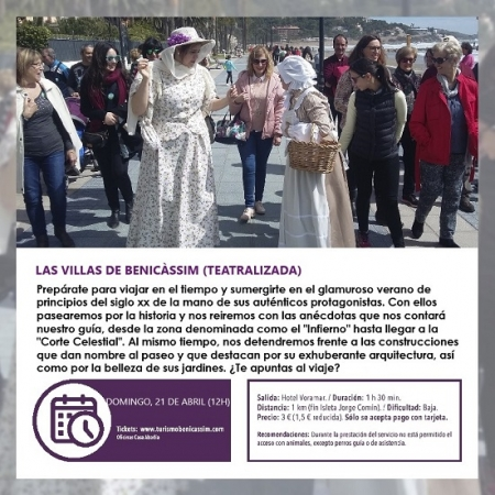 Visita guiada: Les Viles de Benicàssim (teatralizada)