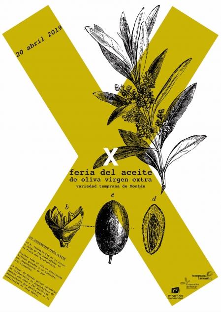 X Feria del aceite de oliva en Montán