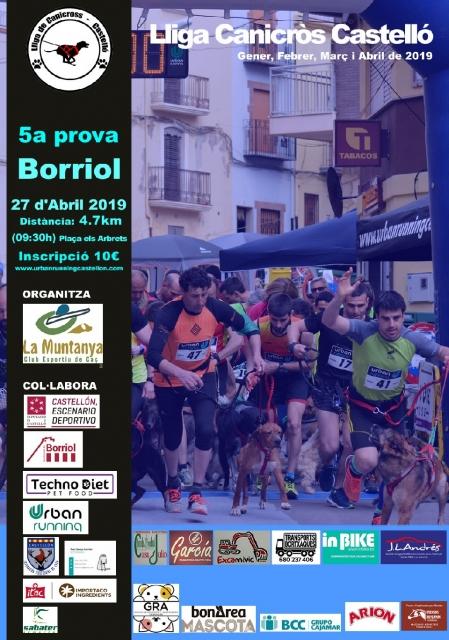 Canicross Borriol