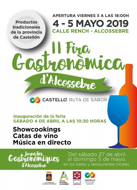 Jornadas gastronómicas y II Feria Gastronómica de Alcossebre