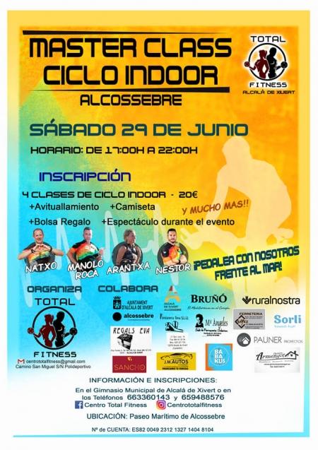 Master Class Ciclo Indoor (Alcossebre)