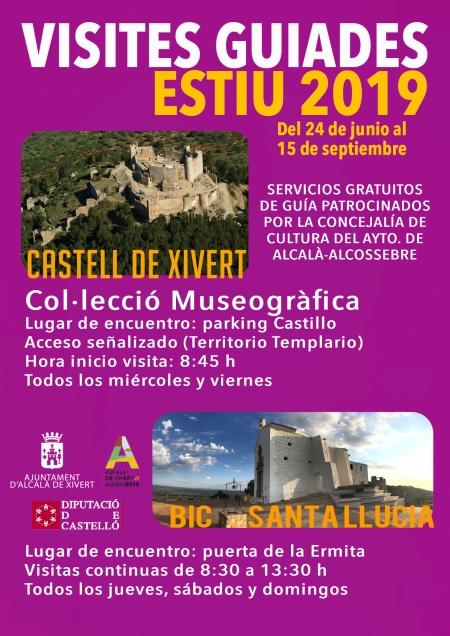 Visites guiades Estiu 2019 a Alcalá/Alcossebre