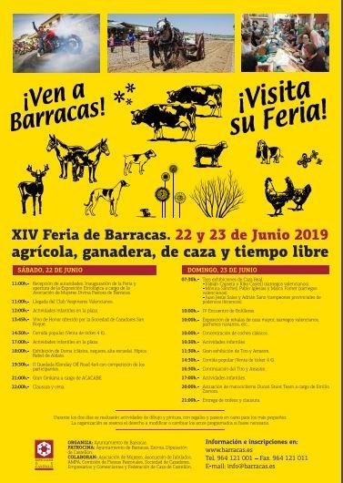 XIV FERIA DE AGRICULTURA, GANADERIA, CAZA Y TIEMPO LIBRE