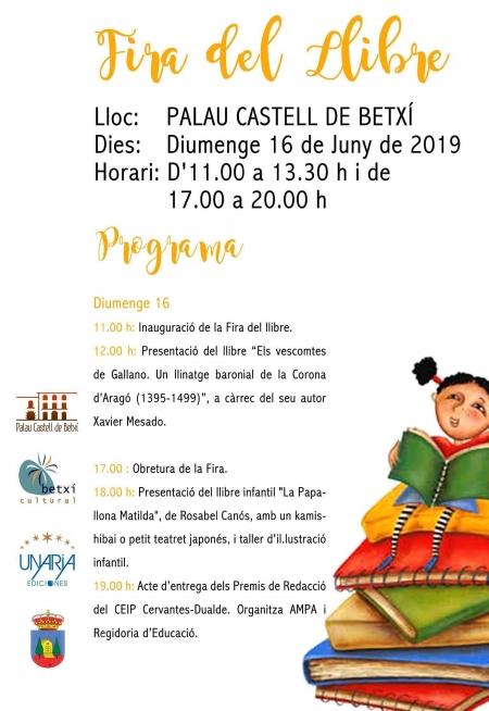 Feria del Libro Betxí 2019