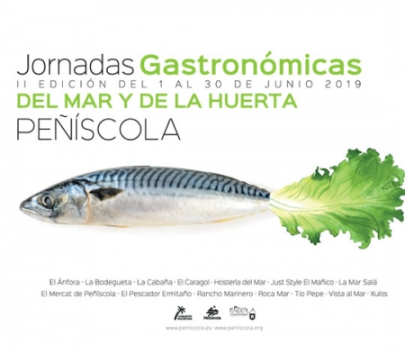 II Jornadas gastronómicas del mar y la huerta en Peñíscola.