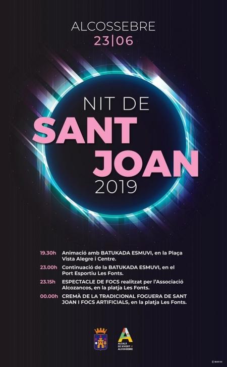 Nit de Sant Joan, Alcossebre.