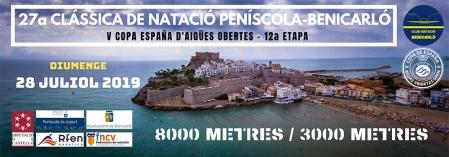 XXVII Clàssica de Natació Peníscola-Benicarló.